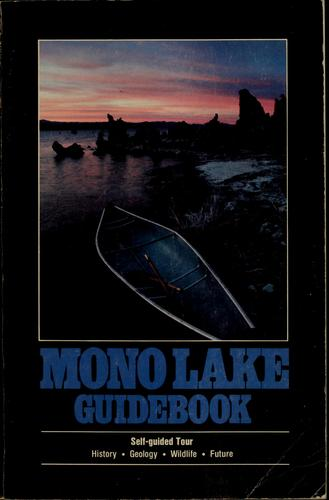 Mono Lake guidebook by David Gaines