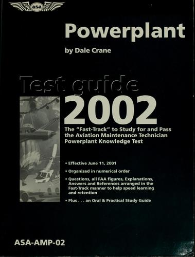 Powerplant test guide 2002 by Dale Crane