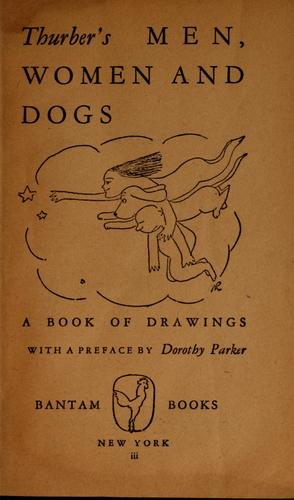 Thurber's men, women and dogs by James Thurber