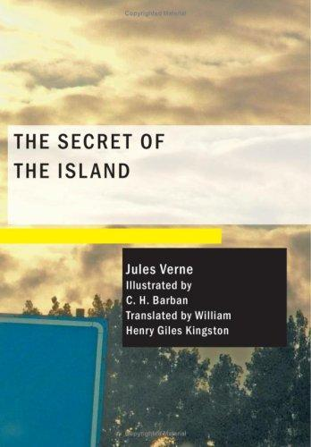 The secret of the island by Jules Verne