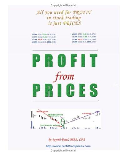 Profit from Prices by Jayesh Patel CFA