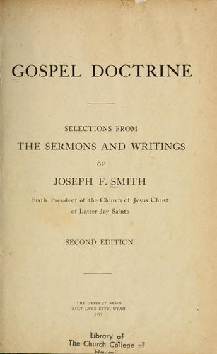 Gospel Doctrine by Joseph Fielding Smith