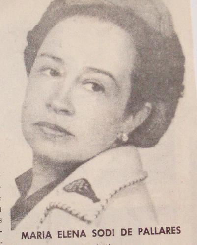 Photo of María Elena Sodi de Pallares