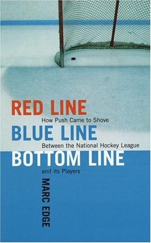 Red Line, Blue Line, Bottom Line by Marc Edge