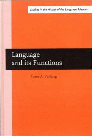 Language and its functions by Pieter Adrianus Verburg