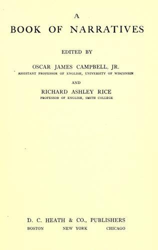 A book of narratives