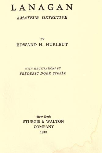 Lanagan by Edward H. Hurlbut