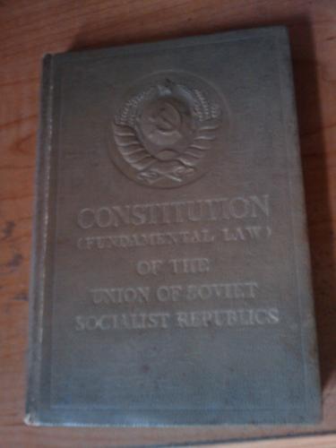 Constitution (fundamental law) of the Union of Soviet Socialist Republics.