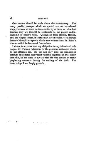 Solon the Athenian