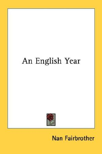An English year by Nan Fairbrother