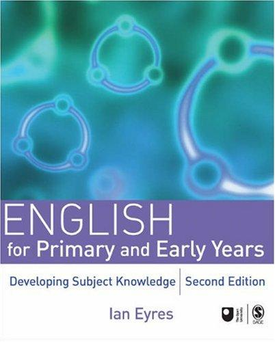 English for Primary and Early Years