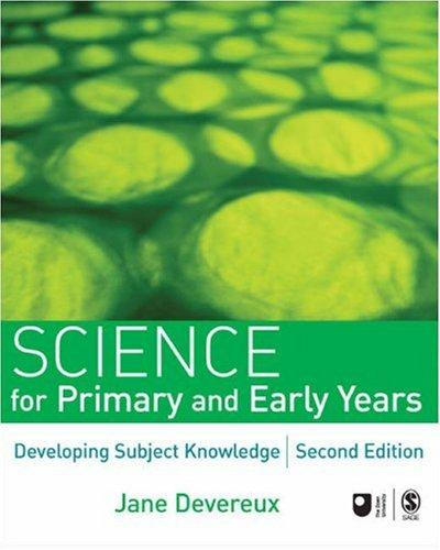 Science for Primary and Early Years by Jane Devereux