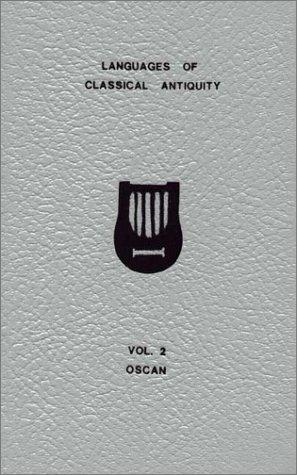 A vocabulary of Oscan by Claudio R. Salvucci
