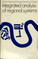 Integrated analysis of regional systems by edited by P.W.J. Batey, M. Madden.