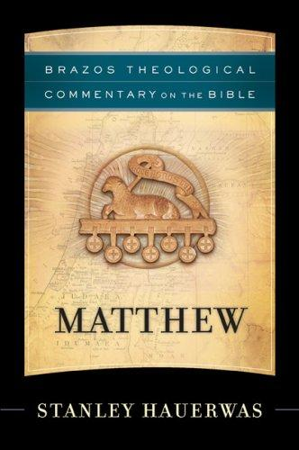 Image 0 of Matthew (Brazos Theological Commentary on the Bible)