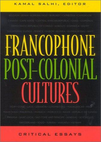 Francophone post-colonial cultures by