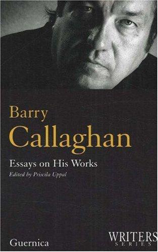 Barry Callaghan by Priscila Uppal