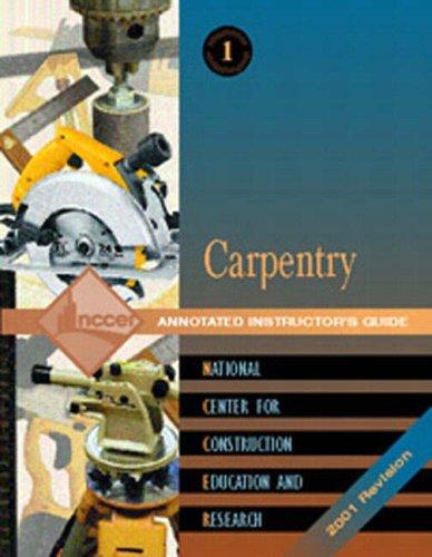 Carpentry Level One by Nccer