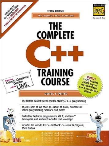 The Complete C++ Training Course by Deitel and Deitel