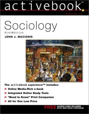 Sociology Active Book by John J. Macionis