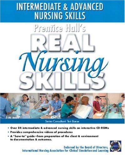 Prentice Hall Real Nursing Skills