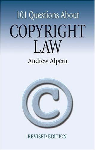 101 Questions About Copyright Law