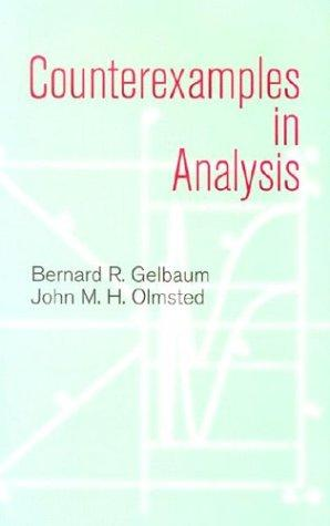 Counterexamples in analysis by
