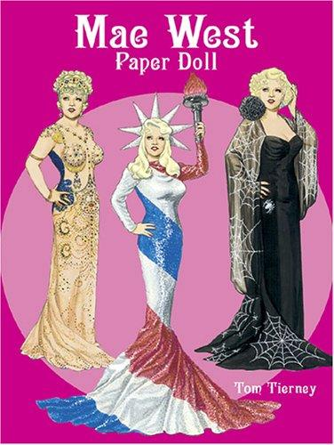 Mae West Paper Doll (Paper Dolls) by Tom Tierney