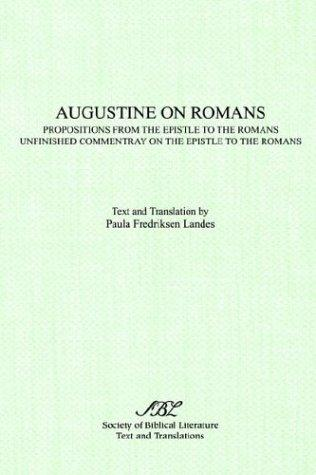 Augustine on Romans by Augustine of Hippo